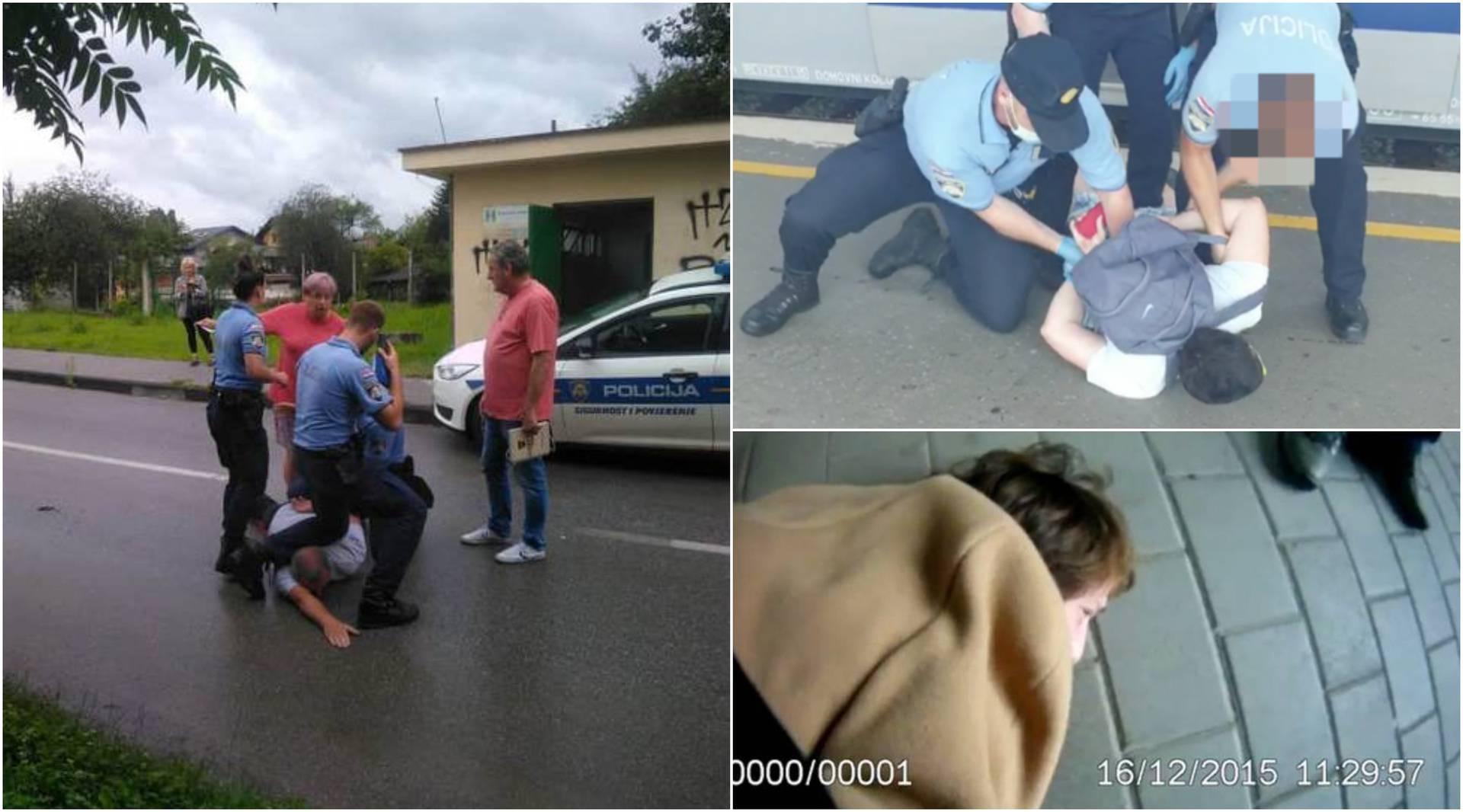 Privođenja zgrozila Hrvatsku: Ženi zavrnuo ruku i bacio je na tlo, iz vlaka su izvukli putnika