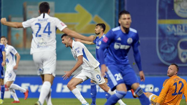 Golijada u Koprivnici: Osijek se  igrao i zabio četiri gola Slavenu