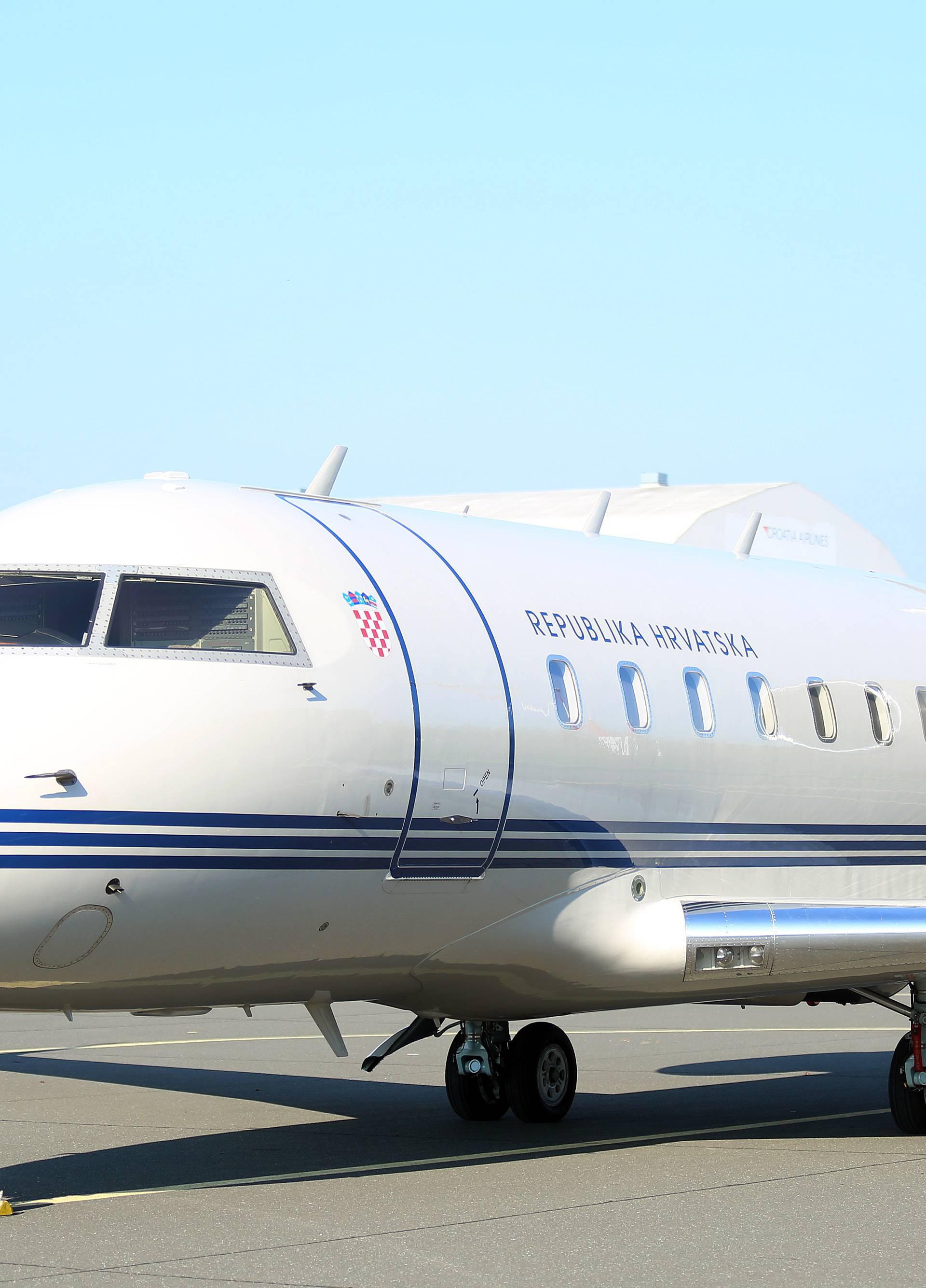 Vladinim zrakoplovom prevezli srce za pacijenta iz  Dubrave
