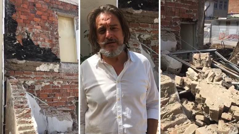 Kipar čiji je atelje uništen: 'Zvali su me prijatelji na kavu i spasili  mi život. Skulpture su uništene'