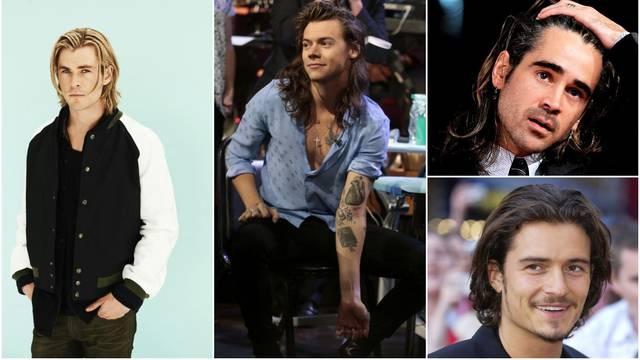 Ovi muškarci znaju nositi dugu kosu, a stoji im više nego dobro