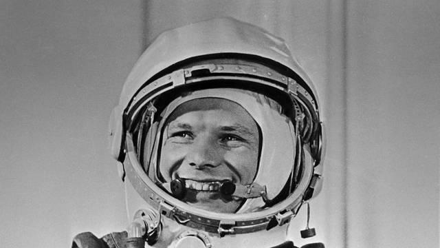 Pilot and Cosmonaut Yury Gagarin