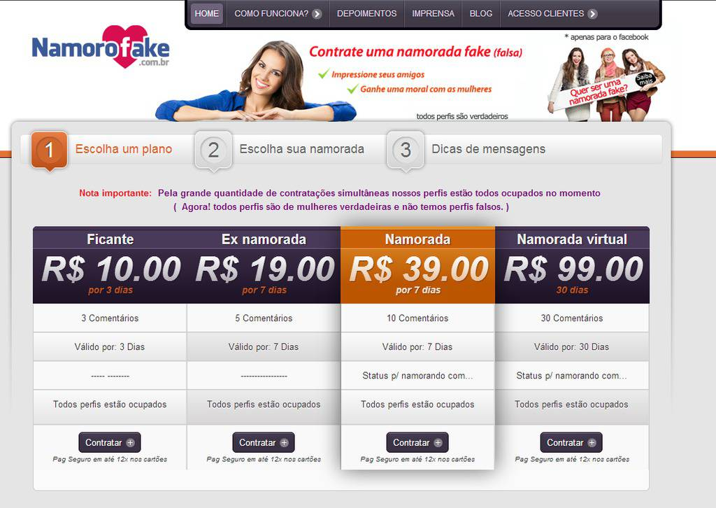 namorofake.com.br