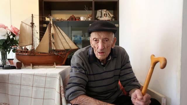 Josip (106) je preživio čak pet država te plovio jedrenjacima