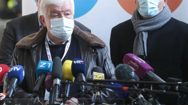 Na Zagrebačkom velesajmu počelo masovno cijepljenje građana protiv covida-19