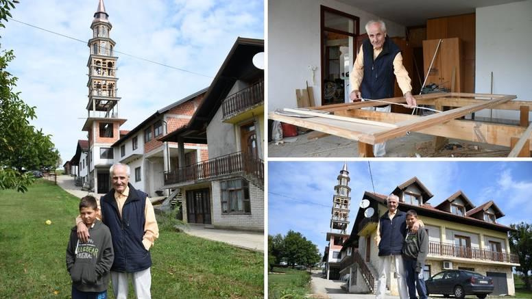 'Sanjao sam toranj i počeo sam ga graditi. Koštao me 500.000 kuna, a visok je  34 metra'