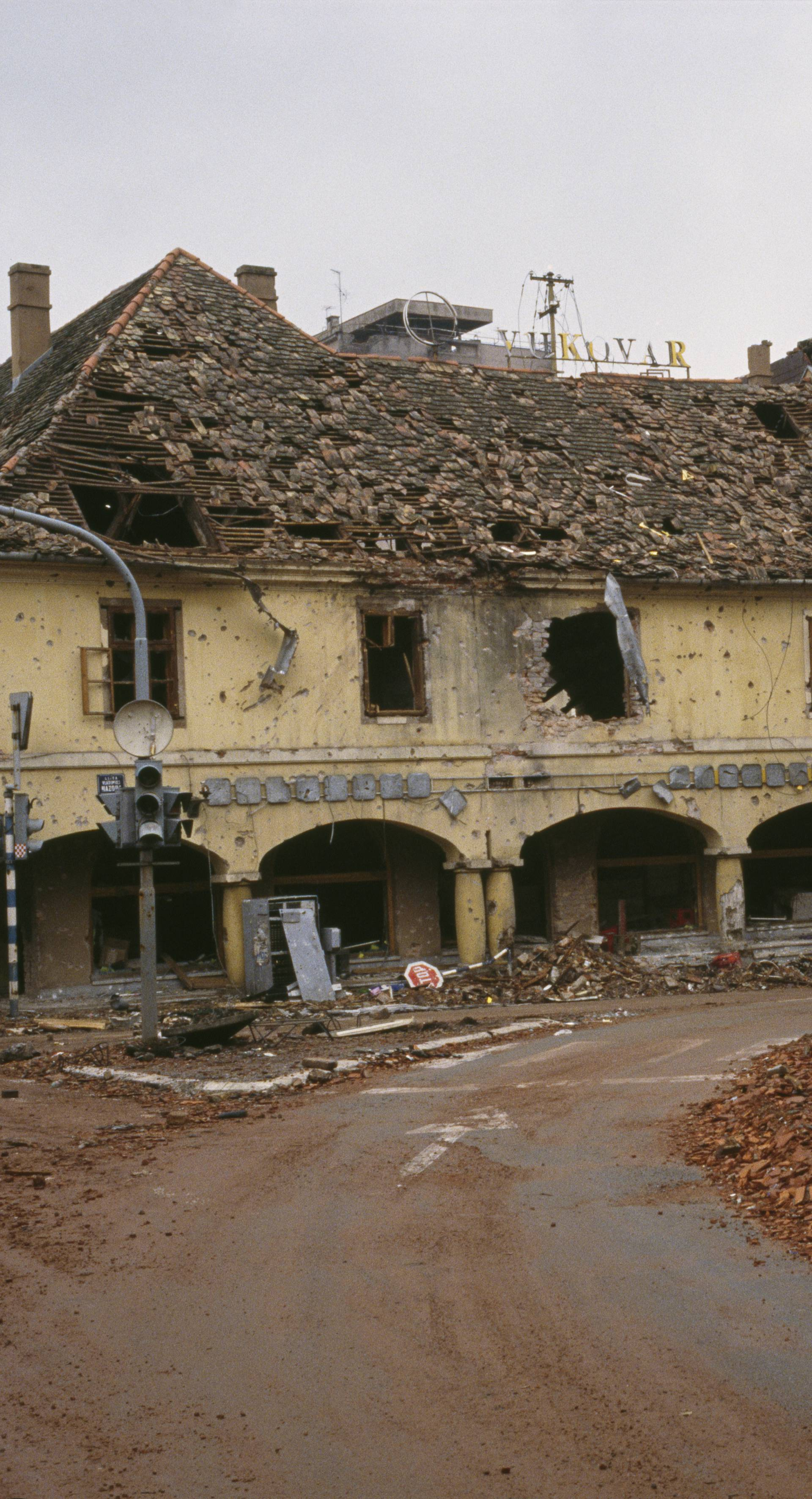 Yugoslavian Federal Army Destroys Croatian City of Vukovar