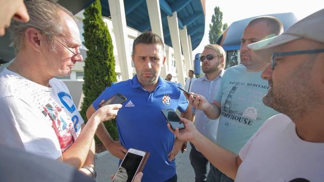 Zagreb: Bjelica dao izjavu uoči odlaska  Dinama na uzvratne utakmice 3. pretkola UEFA Lige prvaka
