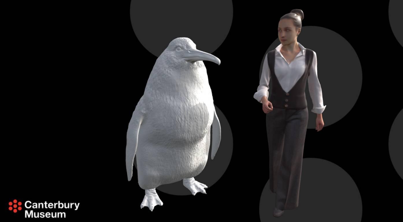Bio je velik kao čovjek: Otkrili fosil novog divovskog pingvina