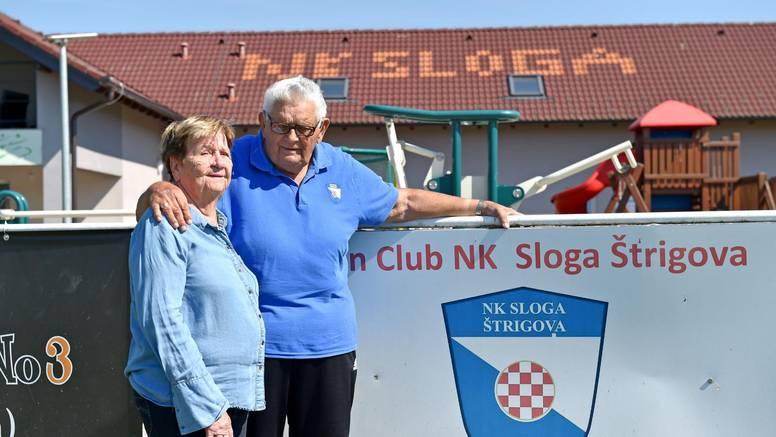Agata slijepom suprugu Josipu prenosi nogometne utakmice