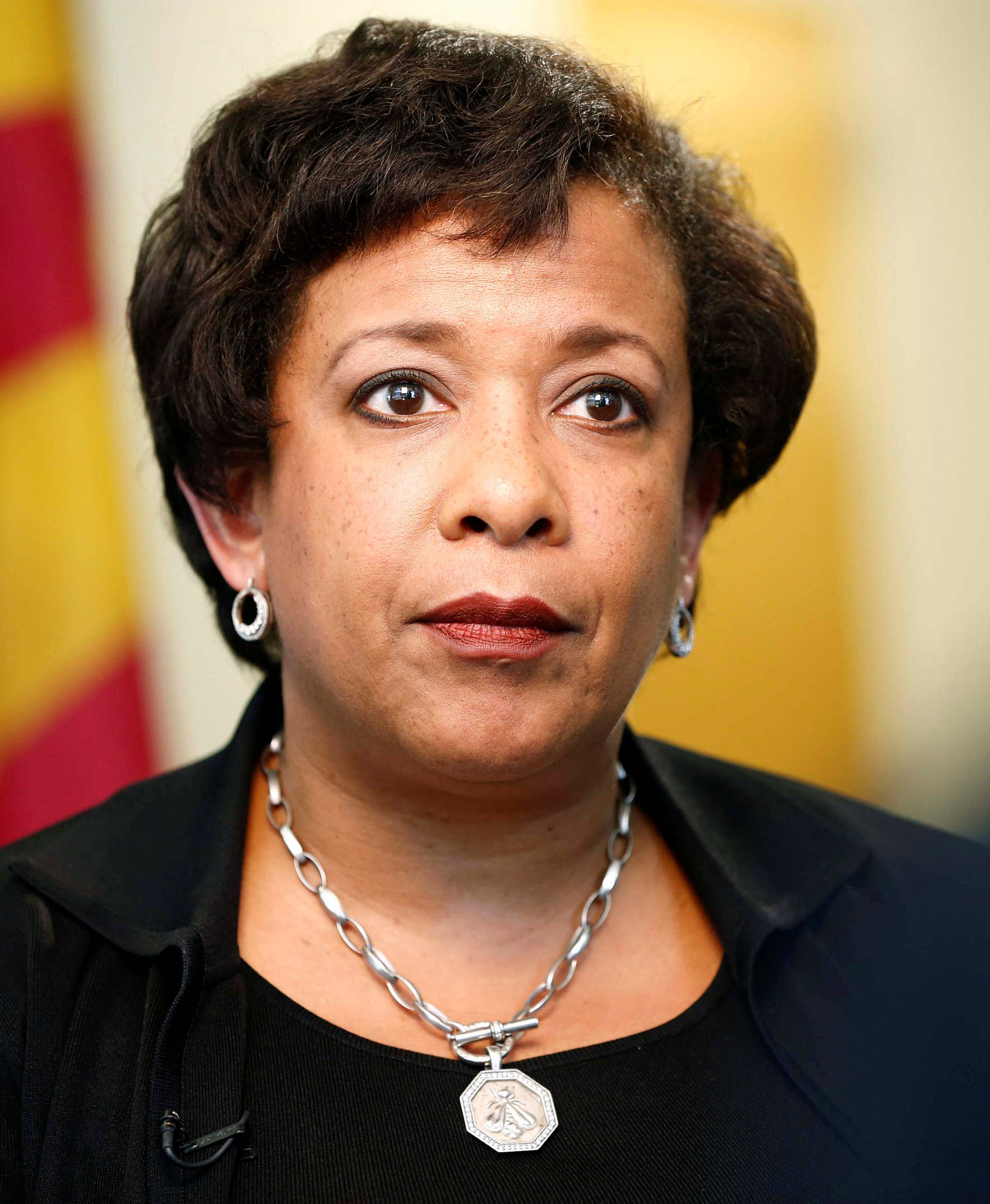 United States Attorney General Loretta Lynch speaks to Reuters in an exclusive interview in Phoenix