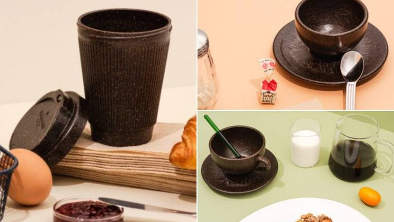 Pijte kavu iz šalice kave, ali doslovno - napravili je iz taloga