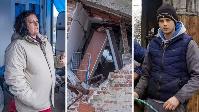 U potresu ostala bez sina: 'San mu je bila kuća u Majskim, na brdu. Koštala ga je života...'