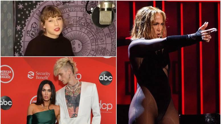 Taylor Swift briljirala od doma, Megan se pojavila s reperom, a J.Lo sve oduševila nastupom