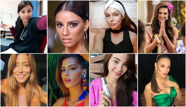 Miss Universe: Natjecateljice se pokazale bez trunke šminke