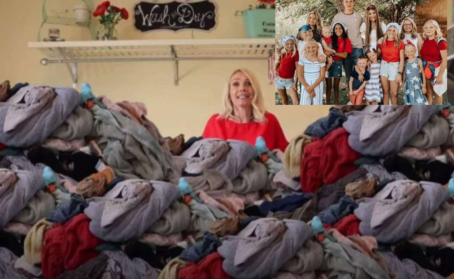 Pranje rublja u velikoj obitelji
