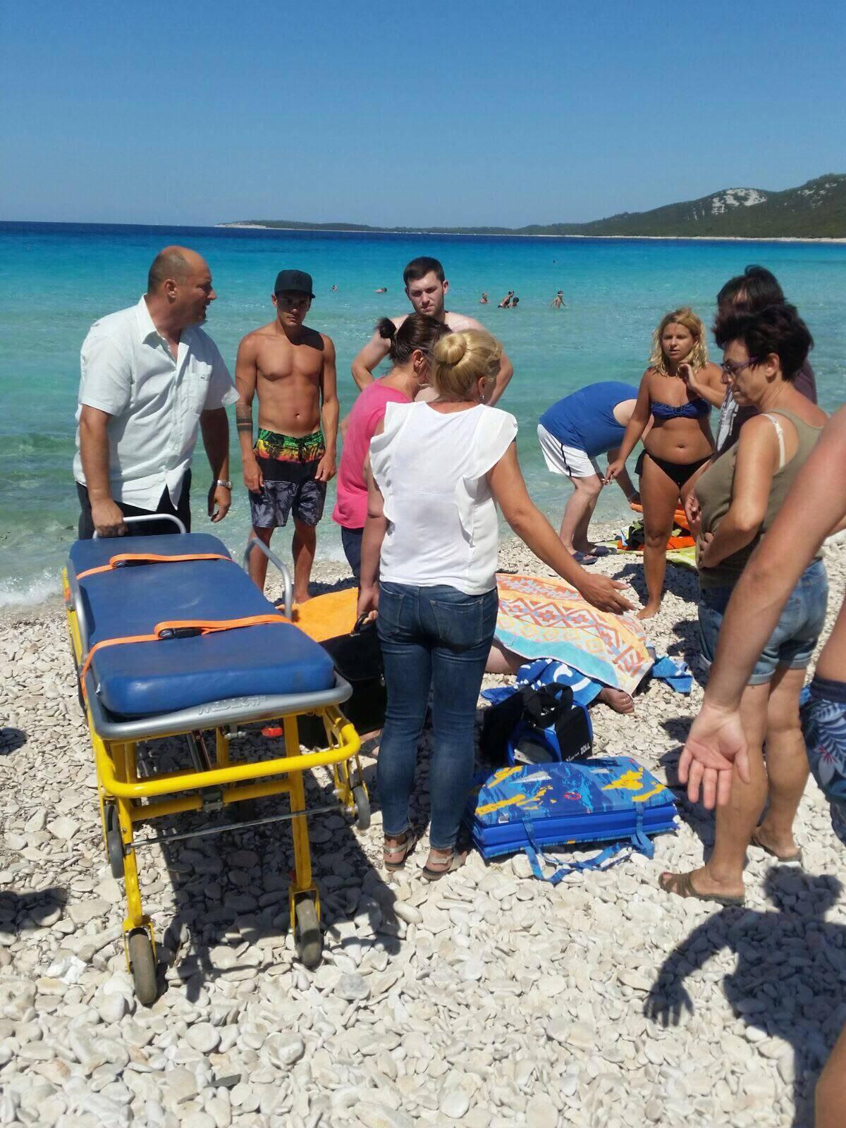 Umro na plaži: 'Hitna je u isto vrijeme imala još dva poziva'