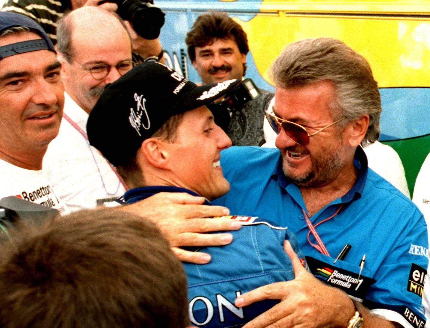 Schumacher wins in Hockenheim
