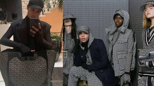 Kreativni direktor Balmaina, Olivier Rousteing, postao model