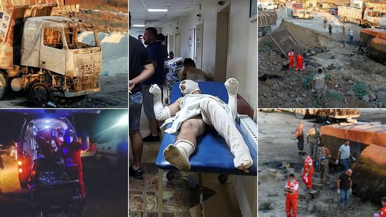 Vojska dijelila besplatno gorivo stanovnicima Libanona, onda je grunulo: 20 mrtvih, ozlijeđeni...