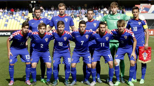 FIFA U 17 World Cup Chile 2015 Croacia s team before round of 16 for FIFA U 17 World Cup 2015 at E
