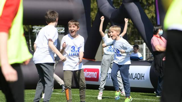 Petrinja: Gradski stadion postao središte amaterskog sporta u Hrvatskoj, a djeca su uživala!