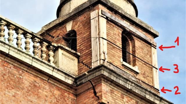 Kula s crkve na Mirogoju može pasti na Tuđmanov grob: Mora se ukloniti jer visi na sajli...