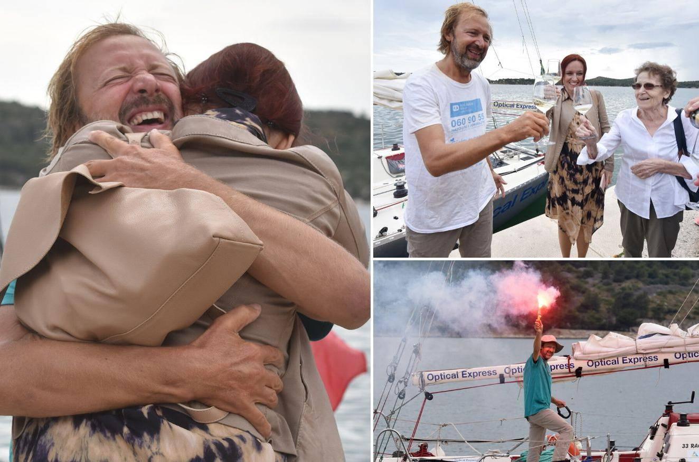 Doktor Grgić se vratio u Šibenik: Pet je mjeseci jedrio Atlantikom