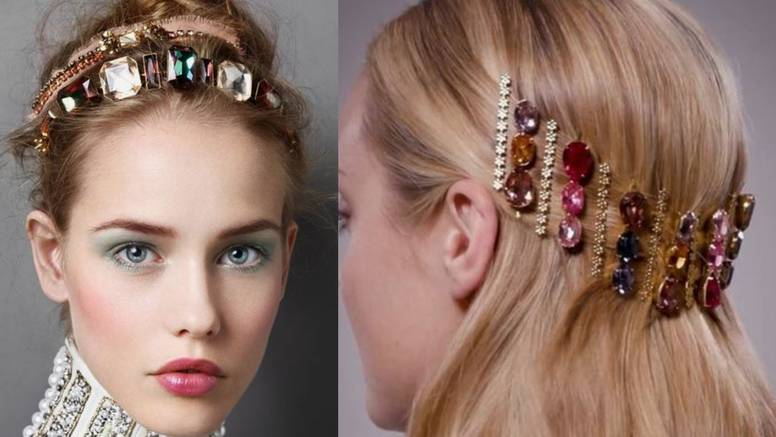 Raskoš u kosi: Ukosnice nalik na kristale i elegantne dijamante