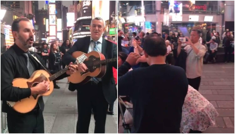 Atrakcija u New Yorku: Pjevalo se 'Hrvatska mati me rodila'...