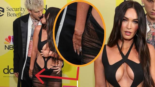 Gdje ti je ruka? Nestašna Megan Fox došla polugola, ali svi su usmjerili pogled malo niže...
