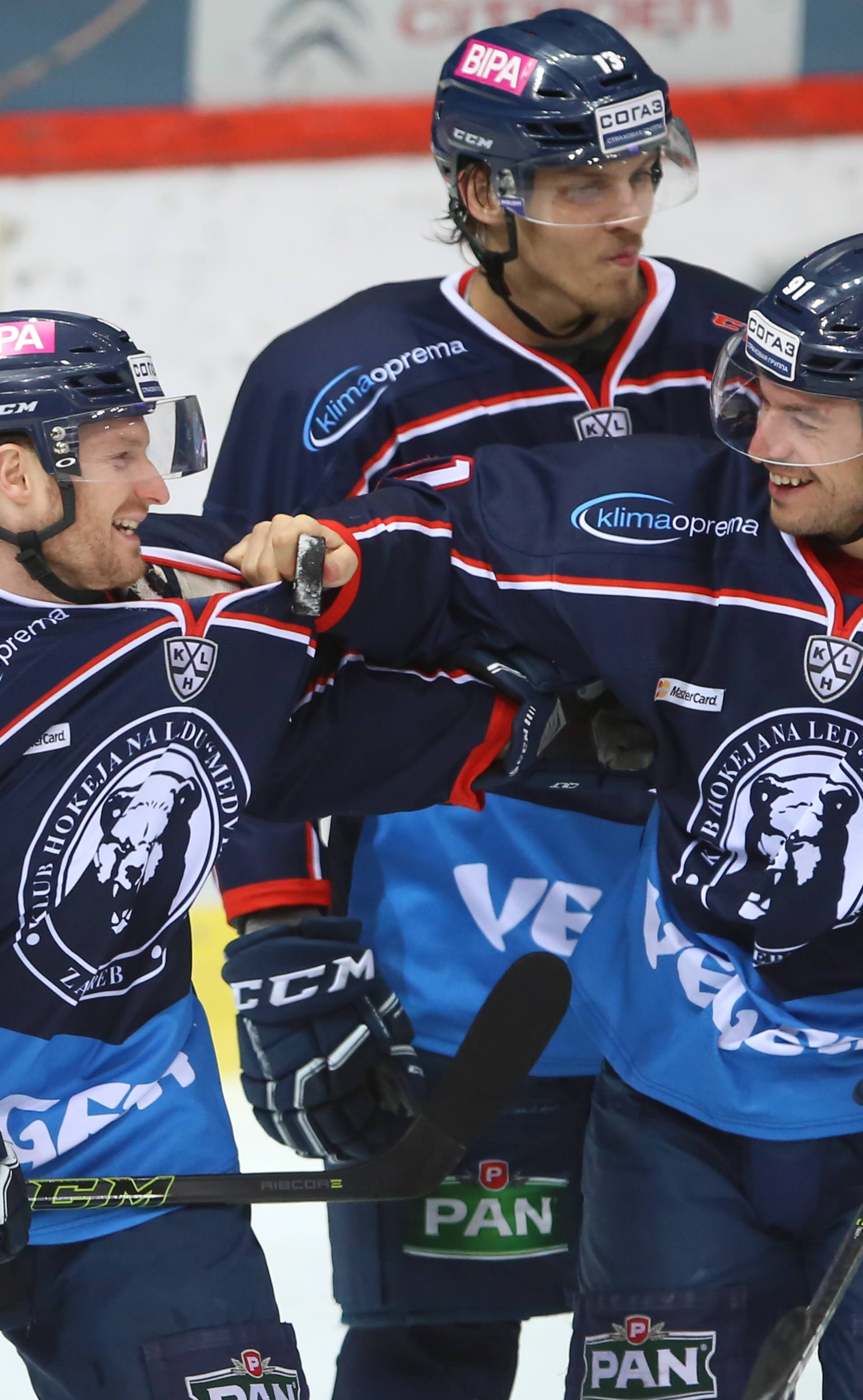 KHL Medvescak -Amur Khabarovsk