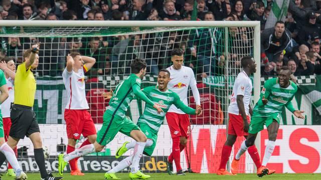 GER, 1.FBL, Werder Bremen vs RB Leipzig