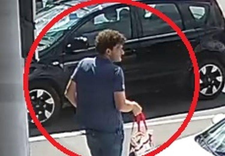 Policija traži muškarca zbog krađe: Javite ako ga prepoznate