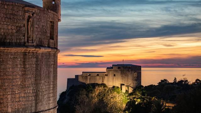 Divni Dubrovnik kraj tjedna je dočekao u predivnim bojama