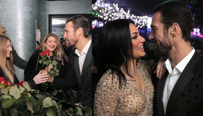 Goran i Hana u noćnom klubu: 'Savršeni' dijelio ruže na ulazu