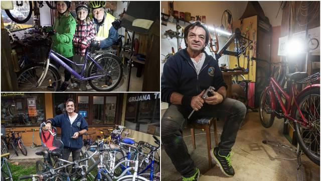 Zlatko iz Osijeka: 'Stare bicikle pretvaram u nove za djecu koja ih sama nemaju prilike imati'