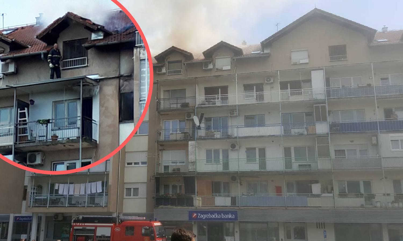 Baka poginula u požaru: 'Imala je moždani udar, oporavljala se'