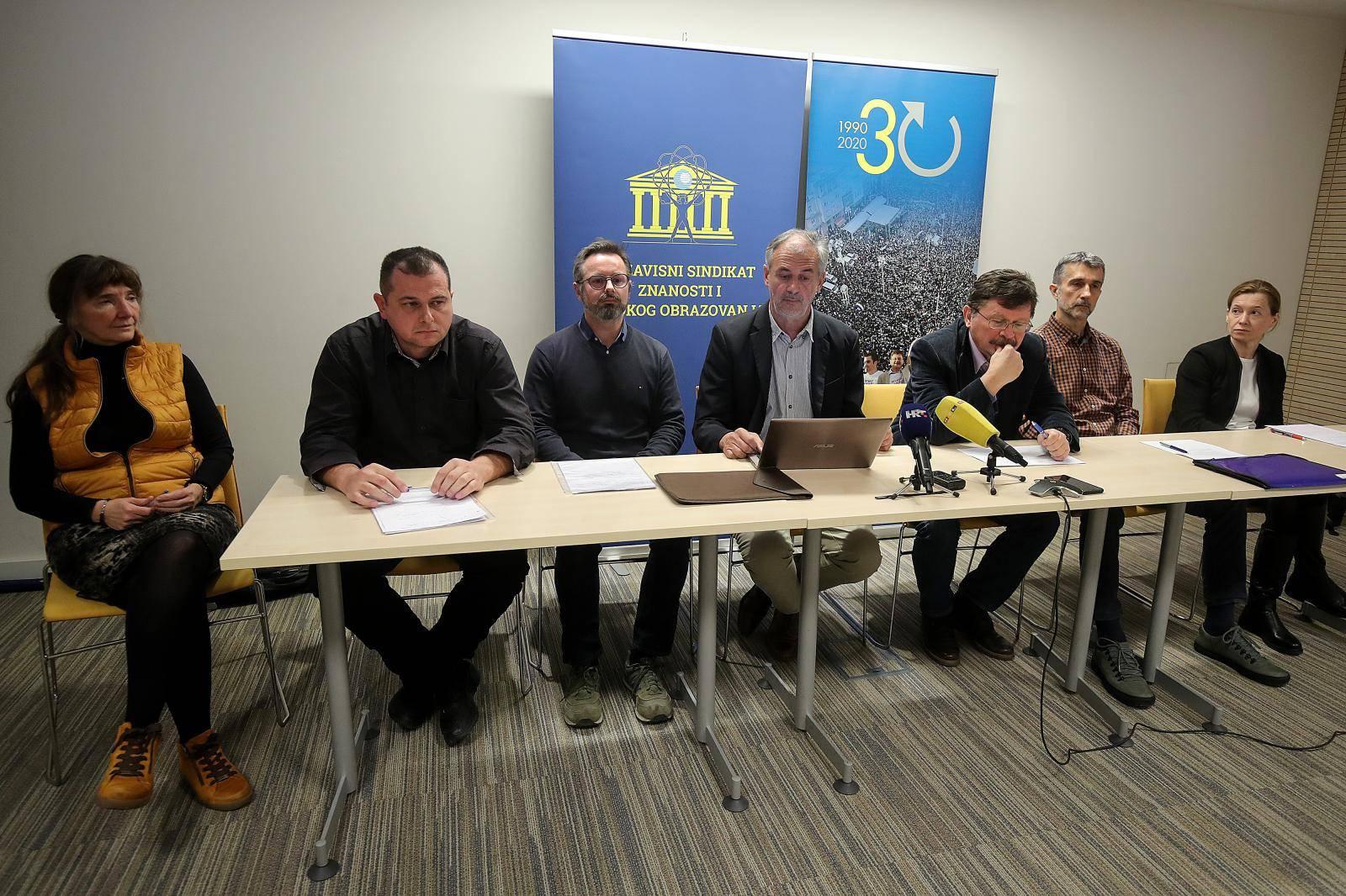 Zagreb: Konferencija za medije NSZVO-a na temu Malverzacije na Hrvatskom veterinarskom institutu