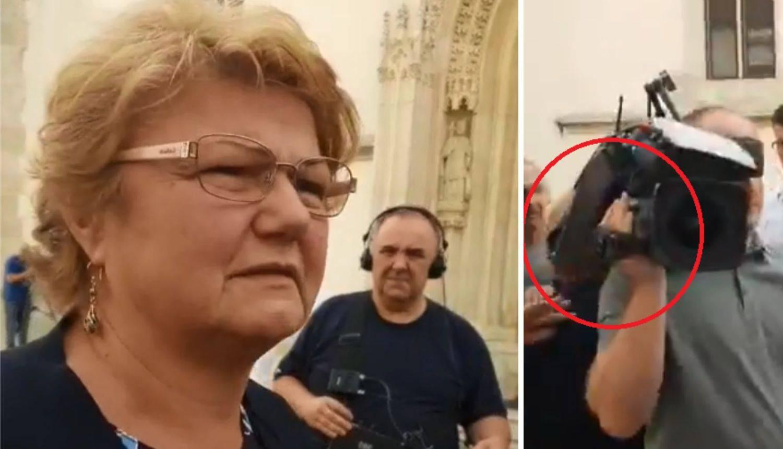Nezgoda za rastanak: Kamera udarila Murganić ispred Vlade