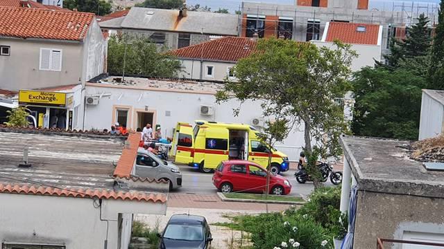 U Makarskoj motor naletio na ženu i dijete koje je vozilo bicikl