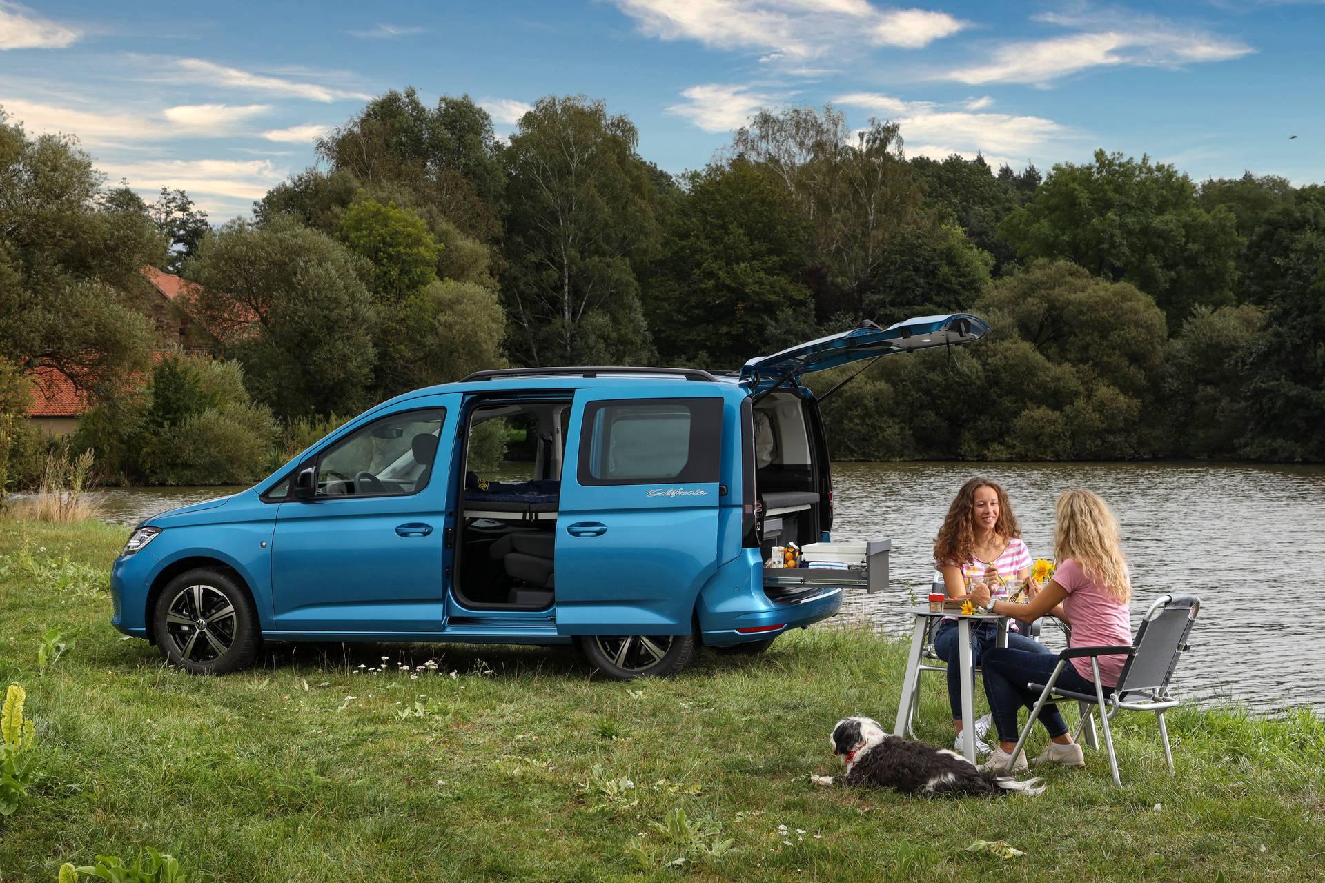 Volkswagen pretvorio Caddy  u minijaturni praktični kamper
