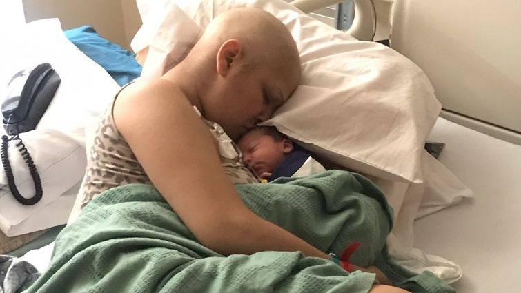 Trudnica s rakom je ipak rodila: 'Osjećala sam mu kucanje srca'
