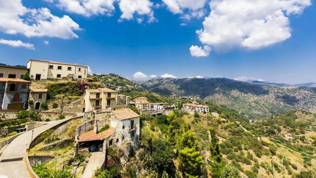Ilustracije talijanske prirode i sela