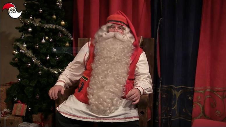 Djed Mraz poslao posebnu poruku Hrvatima iz svojeg ureda u finskom Rovaniemiju