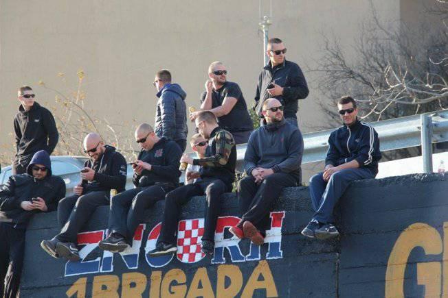 Torcida i branitelji spriječili su prebojavanje grafita  brigada...