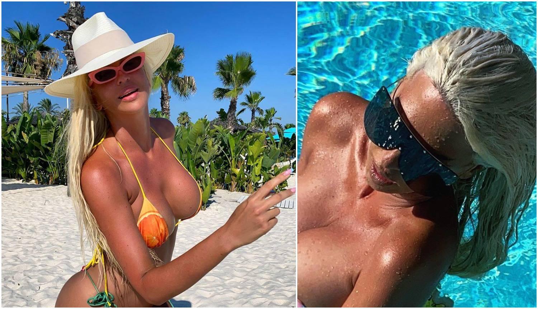 Vrući kadrovi iz Turske: Jelena Karleuša 'brčka' se u toplesu...