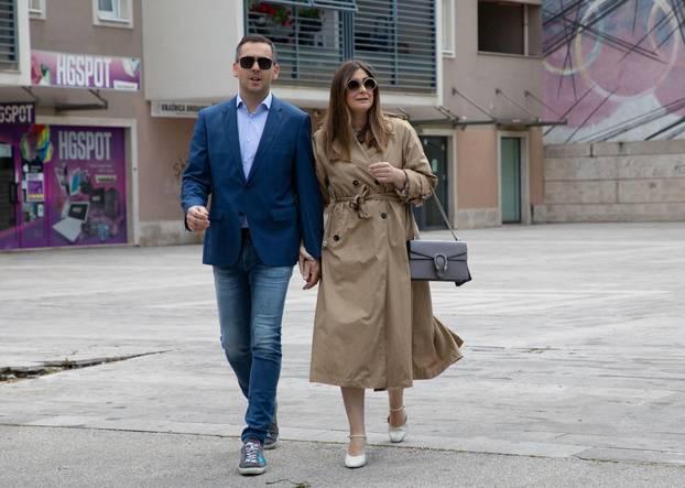 Split, 16.05.2021- Ante Franic glasuje u Solinu