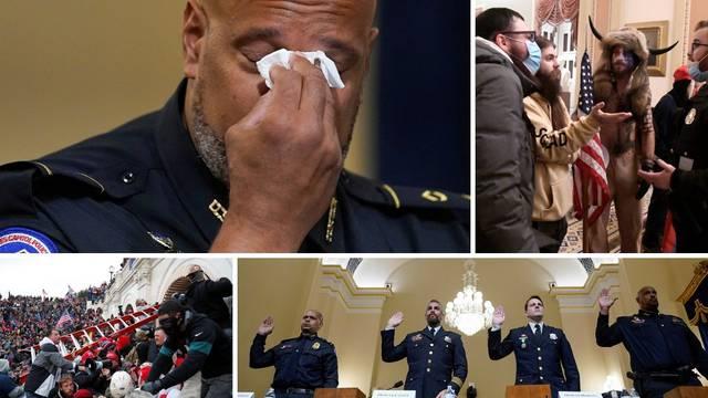Policajci o napadu na Kapitol: 'Prosvjednici su vikali da sam izdajnik i da me treba ubiti...'