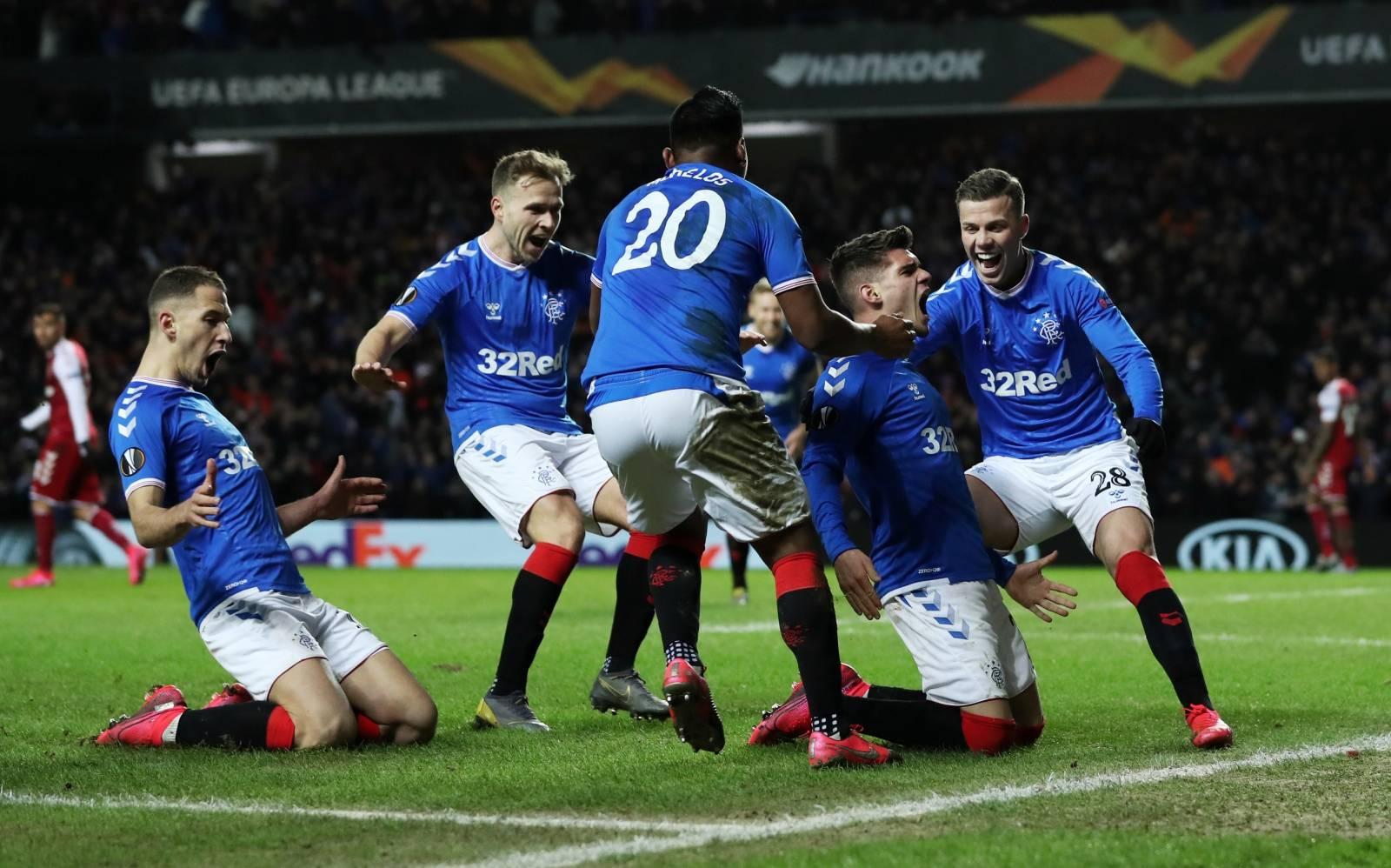 Europa League - Round of 32 First Leg - Rangers v S.C. Braga